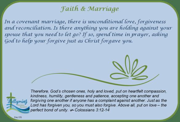 Couple Challenge: Faith & Marriage | Wellspring Christian
