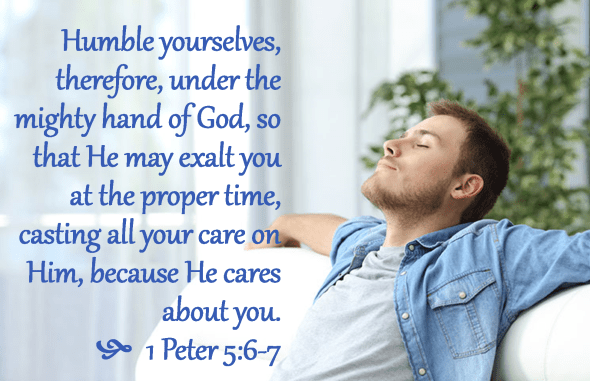 1 Peter 5 6-7