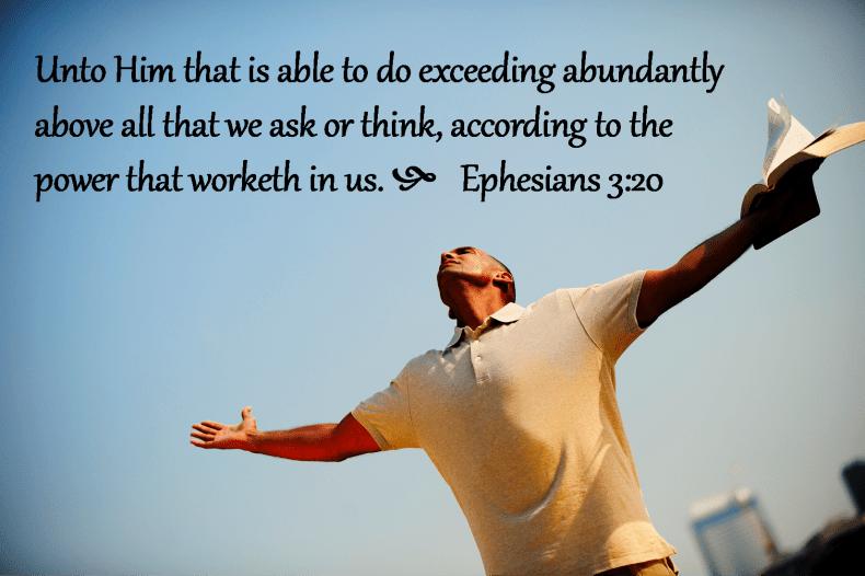 Ephesians 3 20