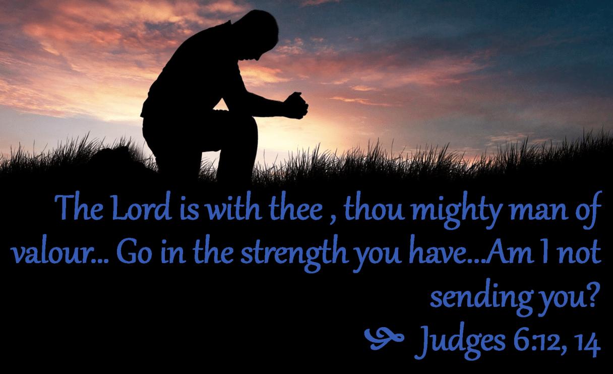 Judges 6 12,14