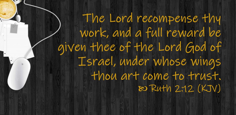 April 8 Ruth 2 12