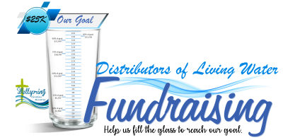Distributors of Living Water goal chart