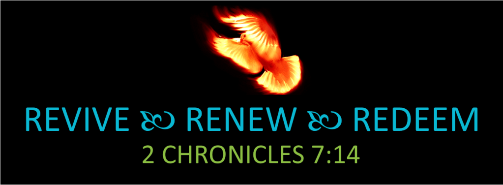 Revive Renew Redeem logo art
