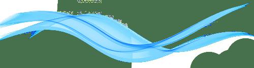 blue ribbon divider