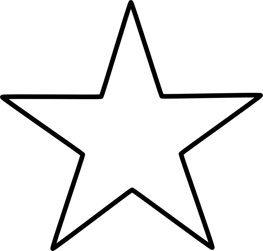 5 pointed star Chrismons
