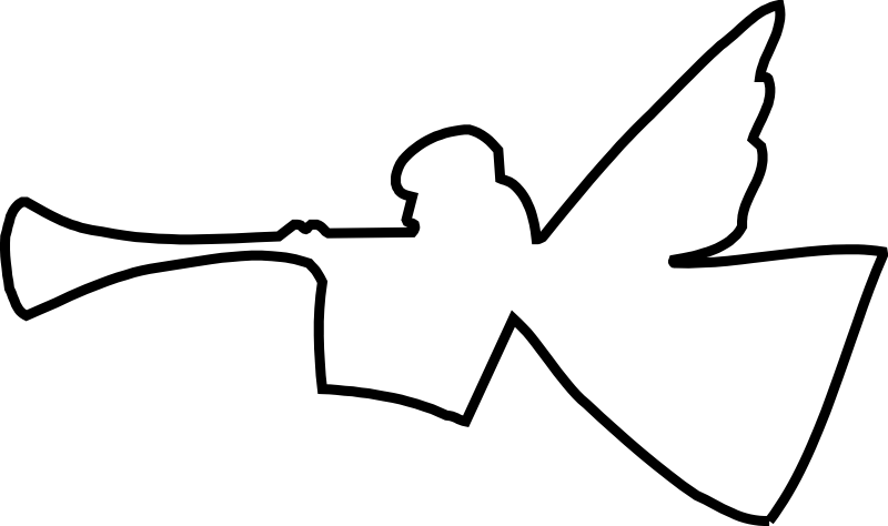 Angel Chrismon pattern
