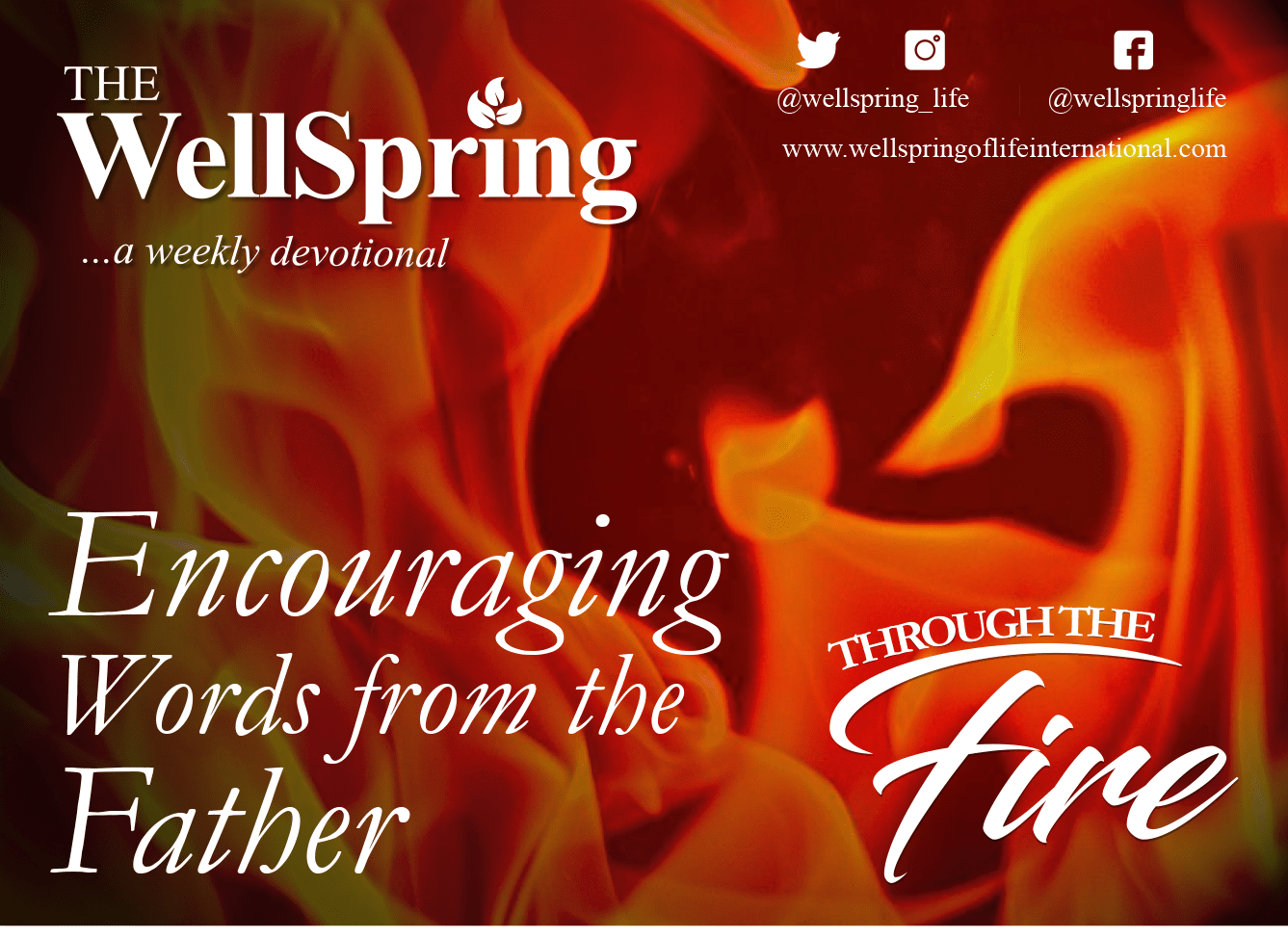 Encouraging Words From The Father – Through The Fire post thumbnail