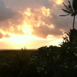 Sunrise Rainbow in Kailua