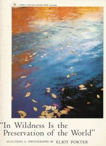 """Cover of """"In Wildness Is the Preservation of the World"""""""