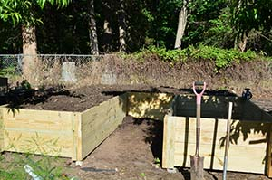 garden u-shape raised bed 6