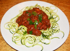 Mel's Italian Sauce with Zoodles