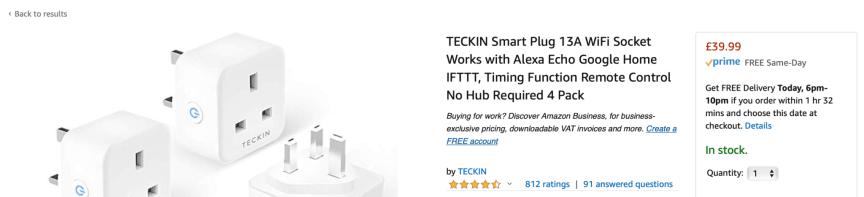 smart plugs to make a smart home