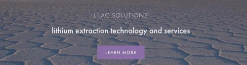 sustainable technology - lilac solutions