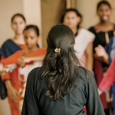1 day of access of clothing for girls rescued from sex-trafficking.