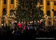 A Czech choir sings carols.