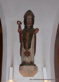 14th century statue of St Ruprecht