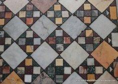 The House Jack Built four-patch design at San Crisogono Trastevere