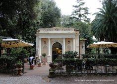 Cafe at the Borghese Gardens