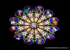 Santa Maria Sopra Minerva: rose window