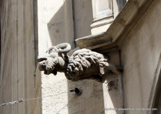Great medieval gargoyle