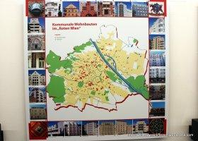 All the communal housing developments in Wien