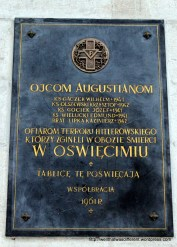Augustinian monks killed in the Holocaust
