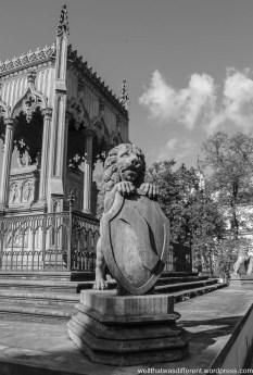 At Wilanov Palace.