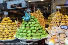Turkish pastry shop