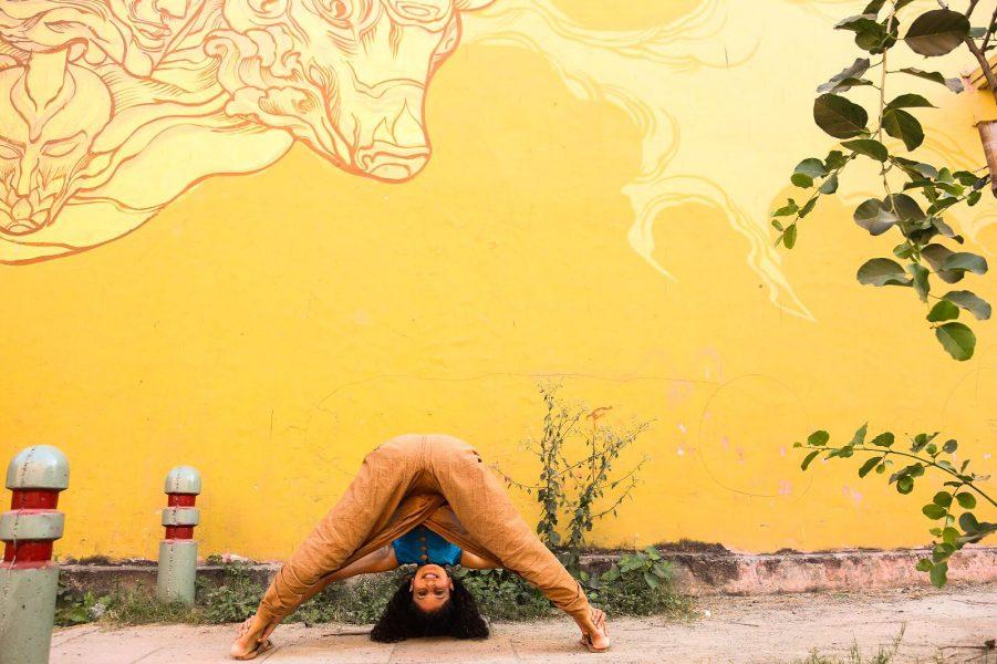 Delhi Lodhi Art District Yoga Tanya Agarwal WellthyFit