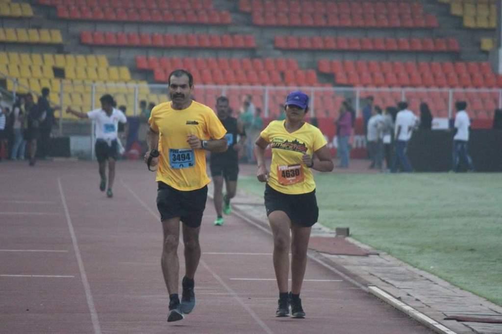 Pune International Marathon - 2015 Pacing - TrUpti Kulkarni