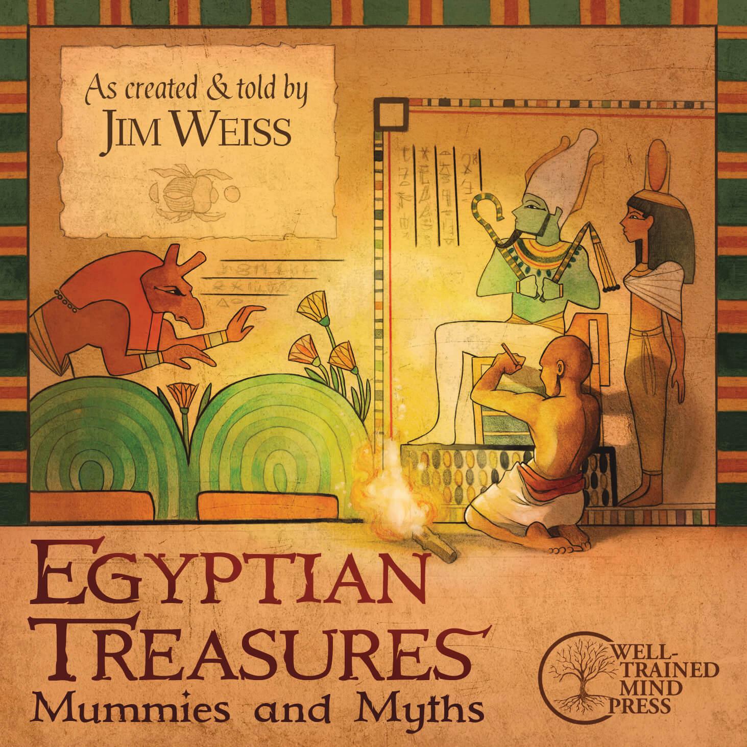 Egyptian Treasures Mummies And Myths