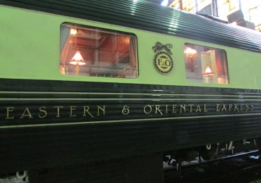 Eastern and Oriental Express. Image courtesy Sheryll Latham.
