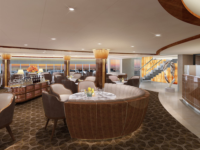 The Grill by Thomas Keller. Image courtesy Seabourn.