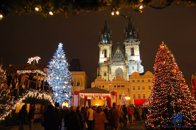 Christmas markets in Prague. Image credit Abercrombie & Kent.