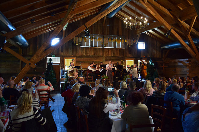 Scenic Sound of Music show, exclusive to Scenic guests only. Image Todd Sturm.