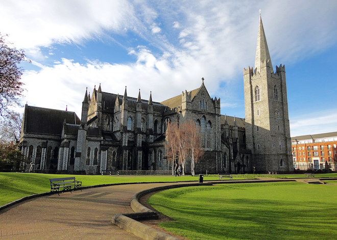 St Patricks Cathedral. Image courtesy of Collette.