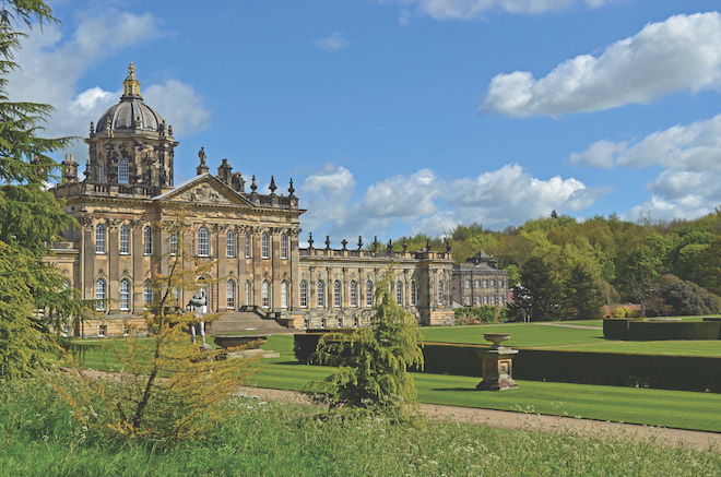 Castle Howard as seen on Highlights of Britain tour.