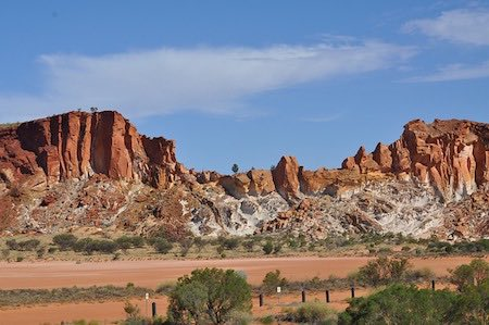 Road to Alice Springs.
