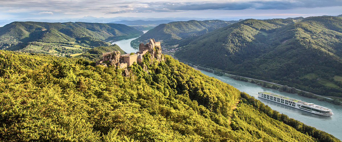 Scenic Jasper in Wachau Valley.