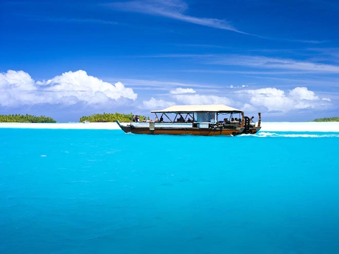 The Vaka. Image credit Cook Islands Tourism.