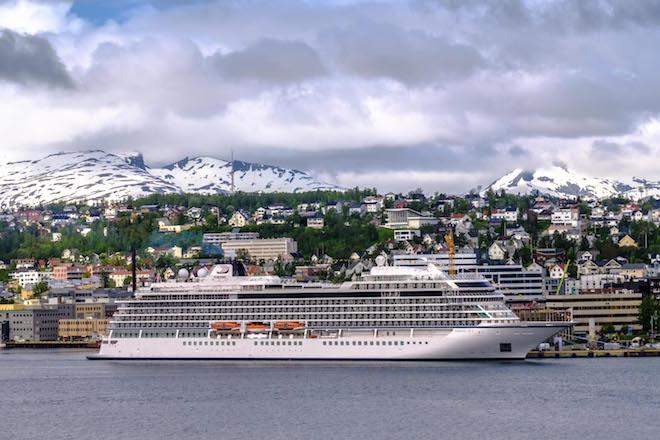 Viking Sky in Tromso.