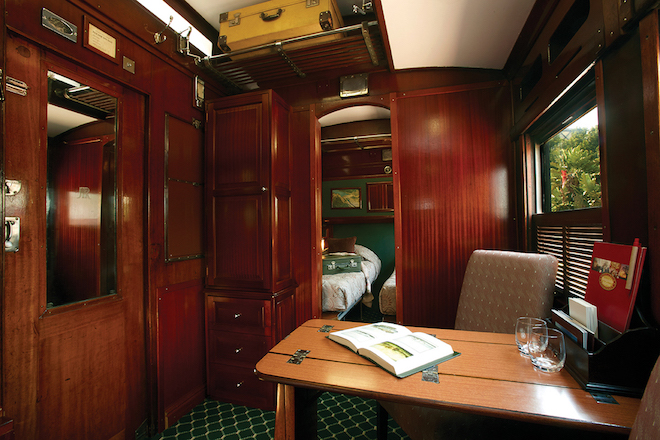 Shongololo Express Emerald Suite.