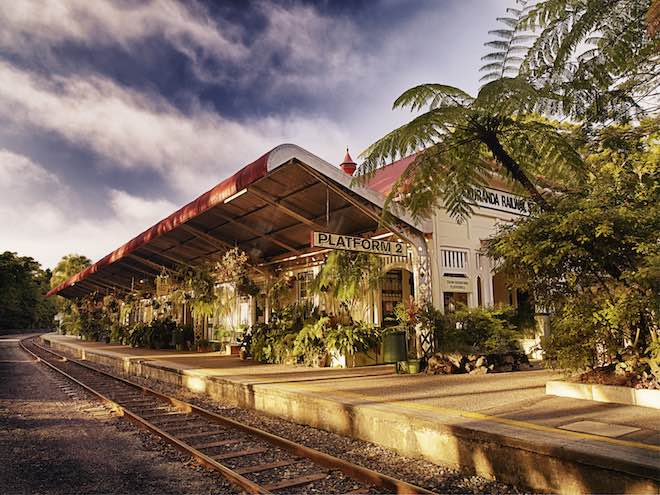 Kuranda Railway Station - image courtesy Queensland Rail.