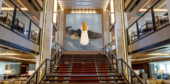 Munch Moments - Image courtesy Viking Cruises.