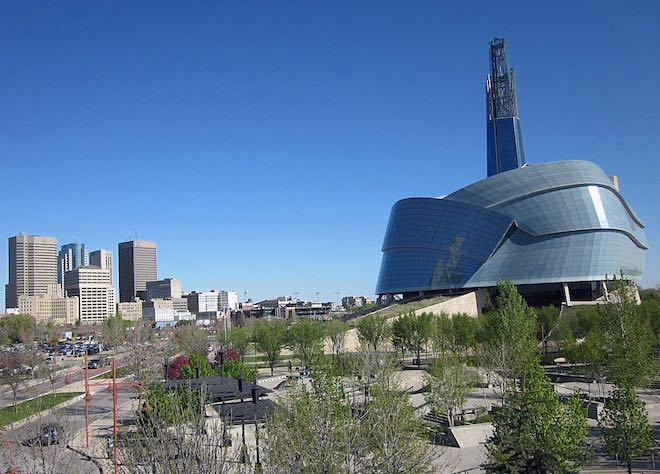 Canadian Museum for Human Rights.