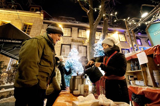 Quebec City Christmas Markets - Image Destination Canada.