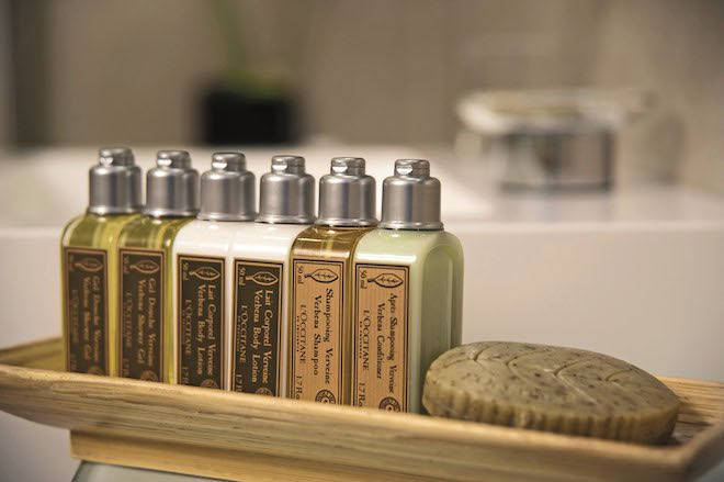 L'Occitane Amenities can be found onboard all Scenic cruises. Image: Scenic