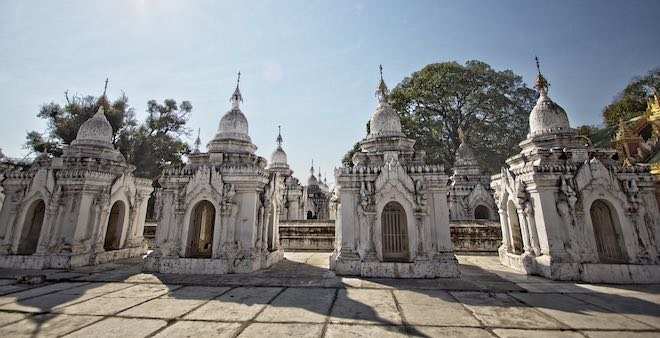 Kuthodaw Temple, Mandalay.