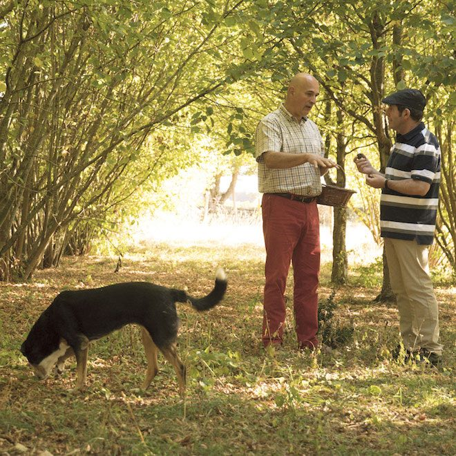 Truffle hunting with local farmers - Image credit Scenic