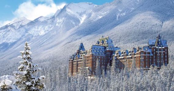 Fairmont Banff Springs, Canada - Image courtesy of Scenic.